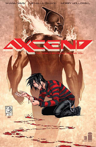 "Axcend (2015) #3 ""Cover A"" Variant"