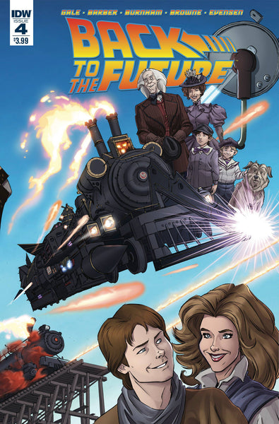 "Back to the Future (2015) #4 Schoening ""Cover A"" Variant"