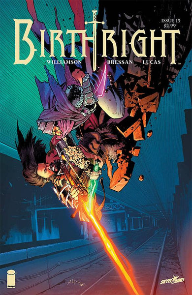 "Birthright (2014) #13 ""Cover A"" Variant"