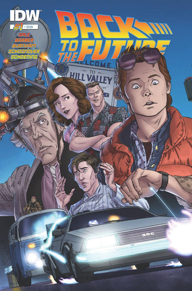 "Back to the Future (2015) #1 Schoening ""Cover A"" Variant"
