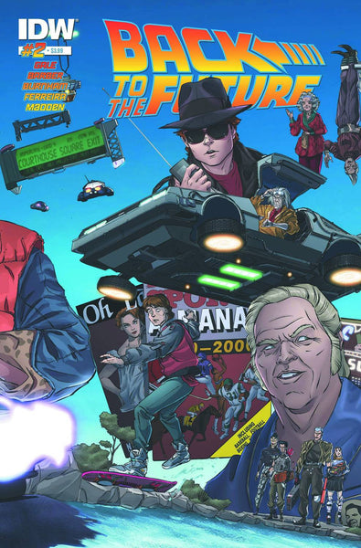 "Back to the Future (2015) #2 Schoening ""Cover A"" Variant"