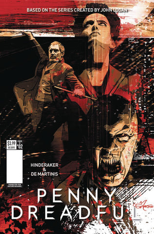 "Penny Dreadful (2016) #2 de Martinis ""Cover B"" Variant"