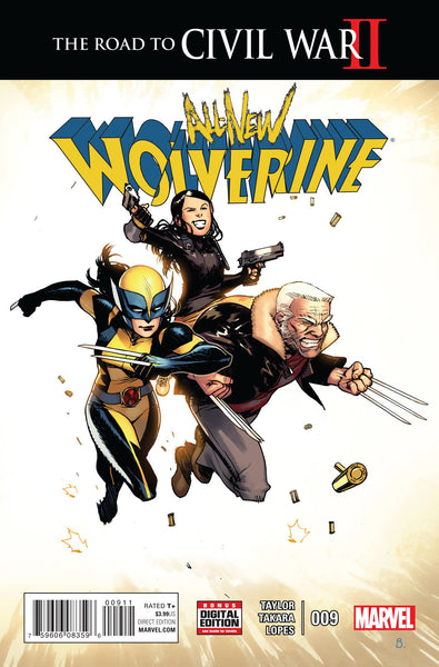 All New Wolverine (2016) #9