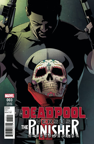 Deadpool vs. Punisher (2017) #3 Perez Variant