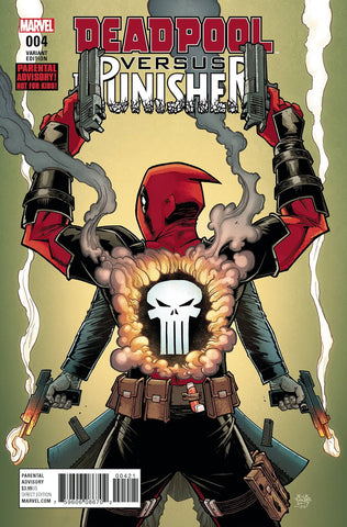 Deadpool vs. Punisher (2017) #4 Roche Variant