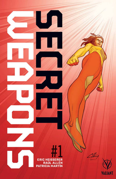 "Secret Weapons (2017) #1 ""Pre-Order Edition"" Variant"