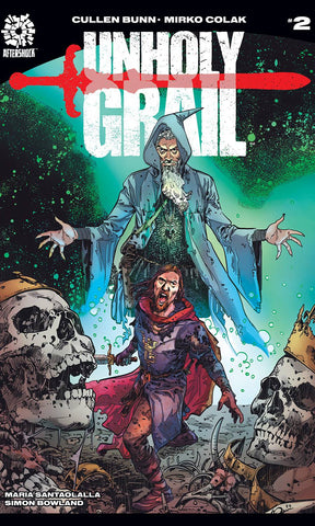 "Unholy Grail (2017) #2 Colak ""Cover A"" Variant"