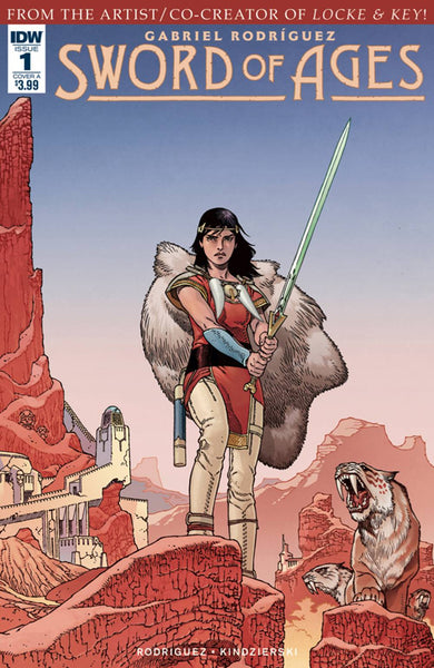 "Sword Of Ages (2017) #1 Rodriguez ""Cover A"" Variant"