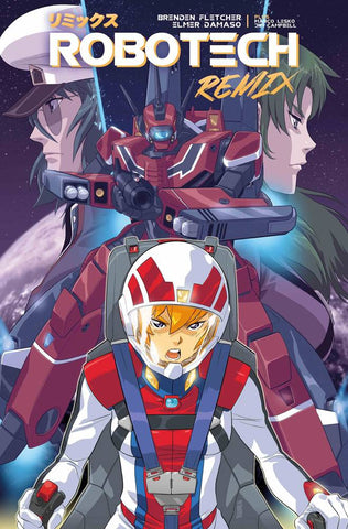"Robotech Remix (2019) #1 Damaso ""Cover B"" Variant"