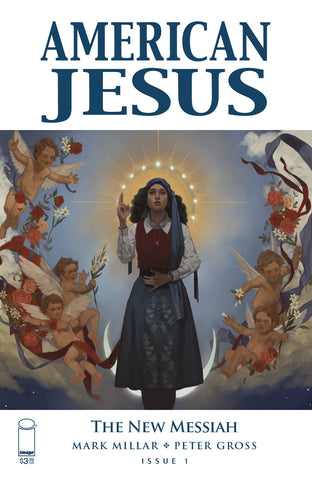 "American Jesus: The New Messiah (2019) #1 Muir ""Cover A"" Variant"