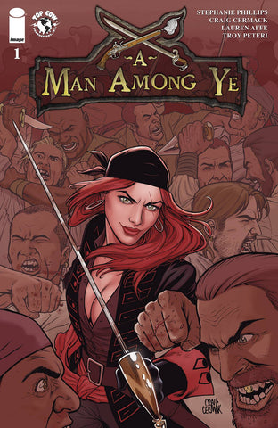 "A Man Among Ye (2020) #1 Cermak ""Cover A"" Variant"