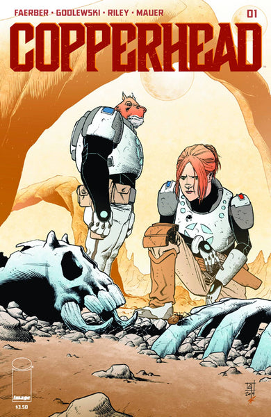 "Copperhead (2014) #1 ""First Print"" Variant"
