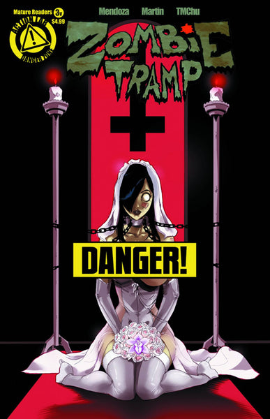 "Zombie Tramp (2014) #3 ""Risque"" Variant"
