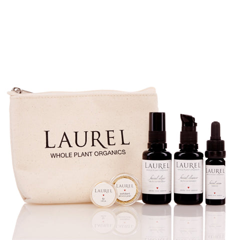 LAUREL TRAVEL SET - OILY / COMBINATION