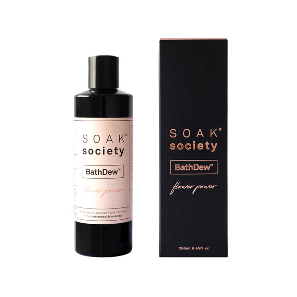Soak Society - BathDew™ Flower Power (250ml)