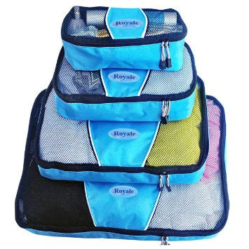 Packing Cubes | Travel Packing Cubes-4pc Set ( Evatex Royale)