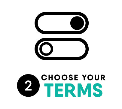 choose your terms