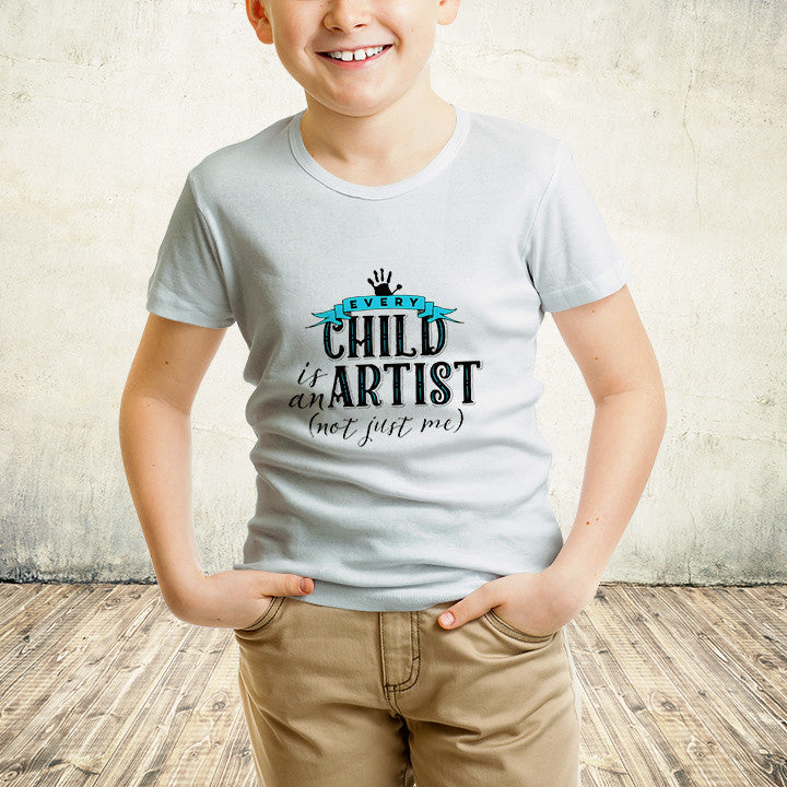 Every Child Is An Artist Youth (White)
