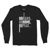 Go Hard. Go Home. Repeat. (Black Long Sleeve)