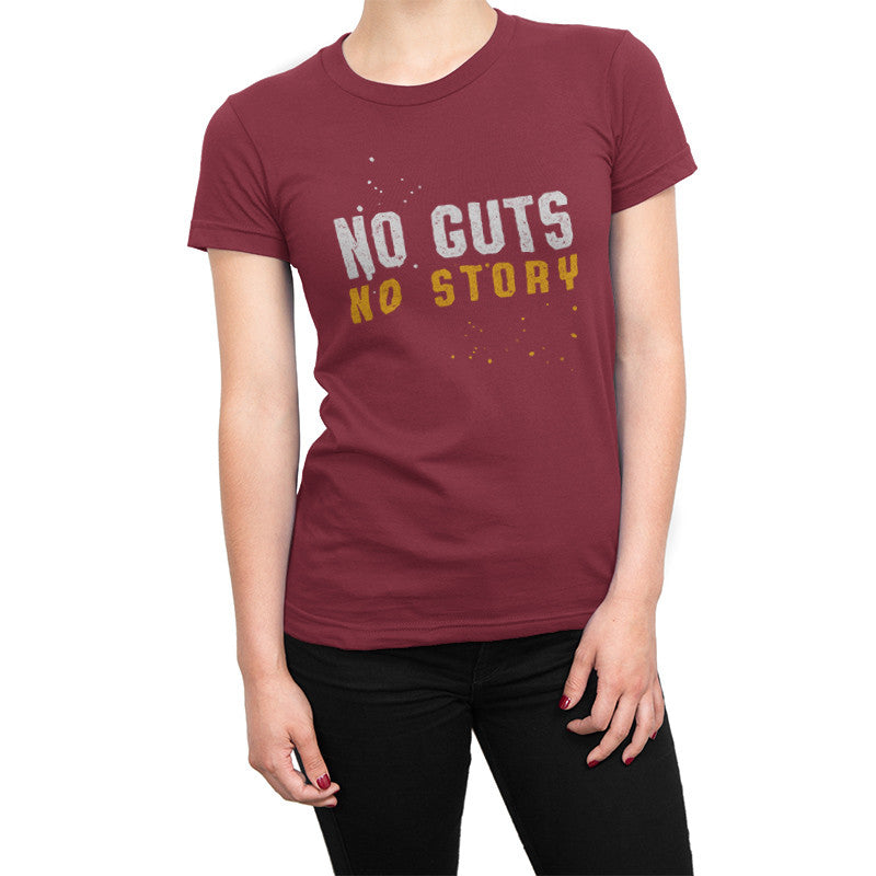 No Guts No Story (Bold Red)