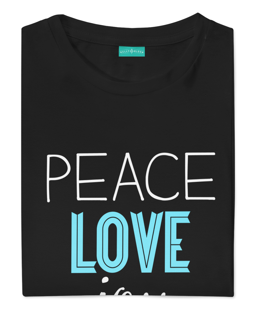 Peace Love Joy (Black)