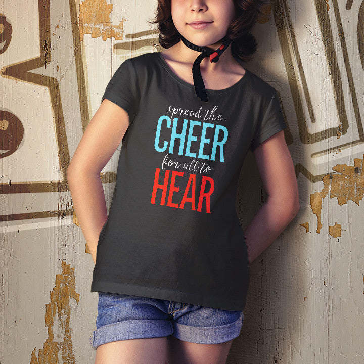 Spread the Cheer Youth (Black)