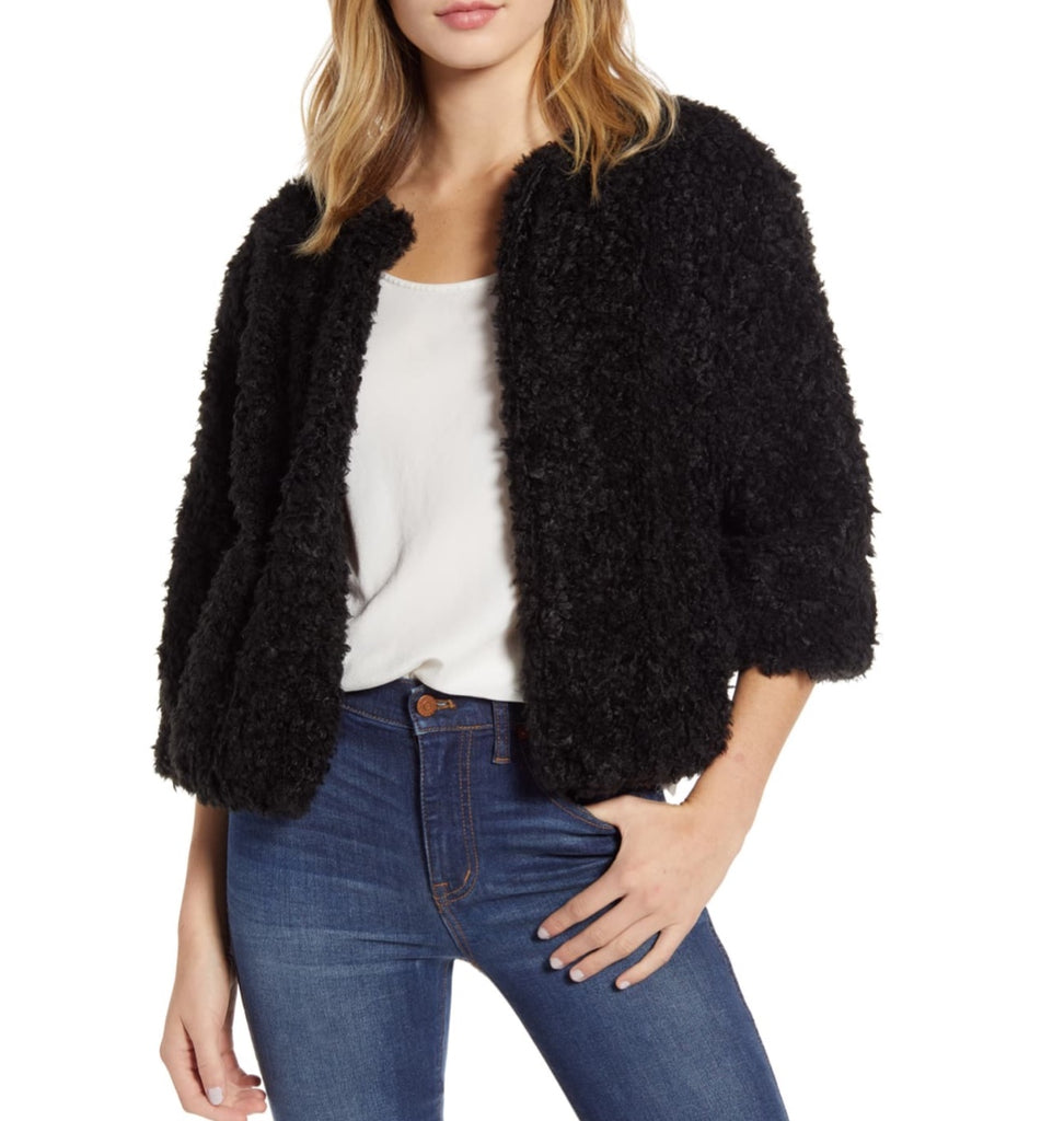 Bishop & Young -Bolero Faux Fur Jacket