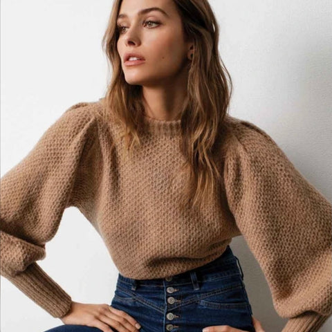 Elan - Balloon Sleeve Sweater