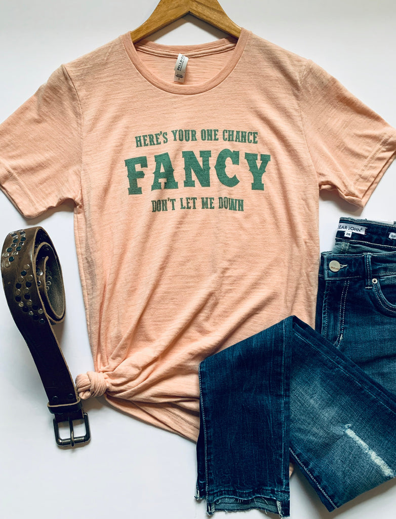 One Chance Fancy - Tee