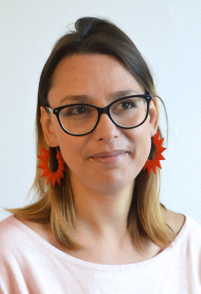 Statement earrings and glasses - Varily Jewelry