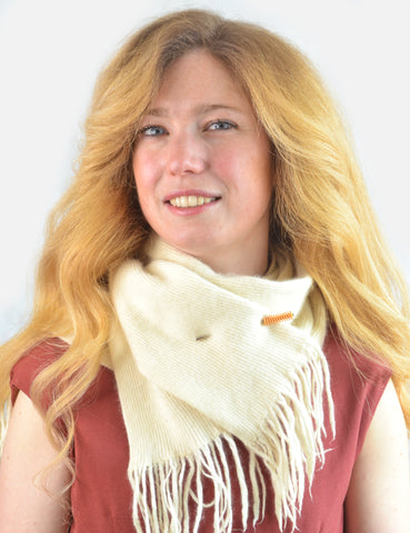 How to Wear a Brooch on a Scarf