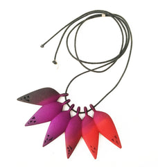 Rainforest Tropical Necklace by Varily Jewelry
