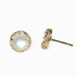 12 Days of Gifts: Day 4 - Rose Pearl Studs