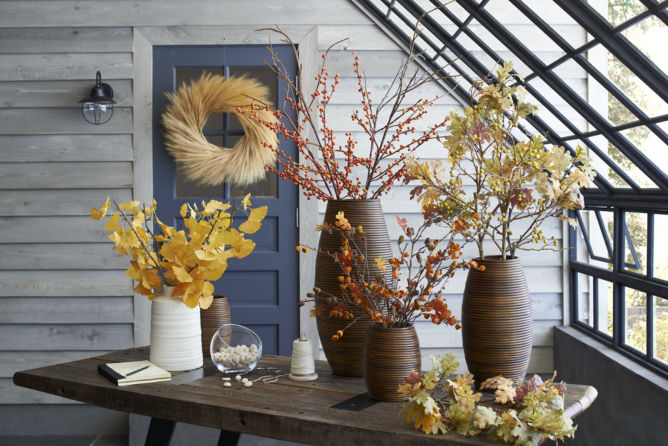 Fall Decor - Fall Flowers