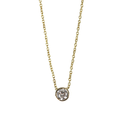 Zoe Diamond Necklace