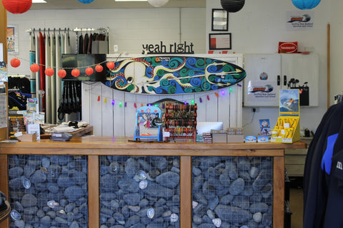 Counter at Tutukaka Surf