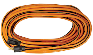 25 foot 16/3  single tap power cable