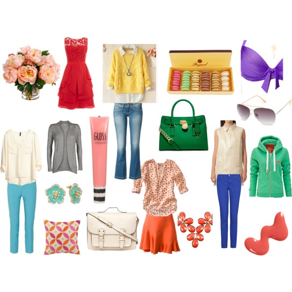 Light spring outfits