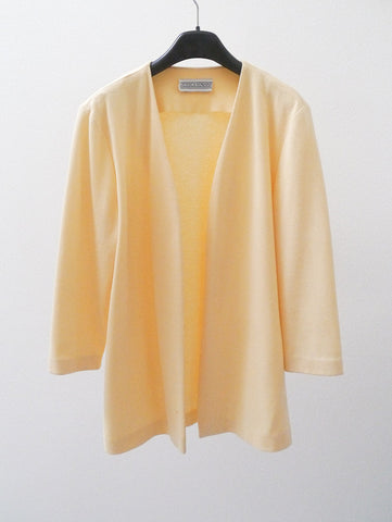 J007 RARE 80S JESSICA HOWARD LIMONCELLO SOFT COAT