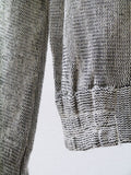 SB008 RARE 70S VINTAGE Gray Lace Panel Top