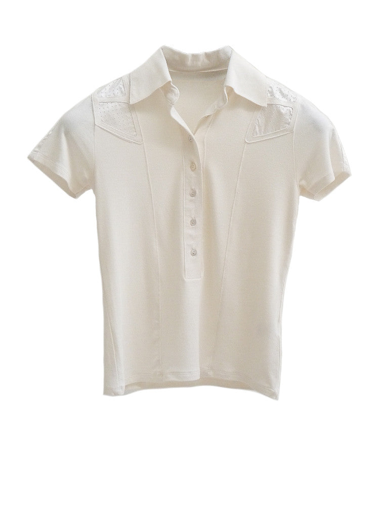T003 90s Cotton/Silk Athletic Polo