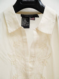 SB012A 90S VINTAGE RAMPAGE Embroidered Boho Blouse