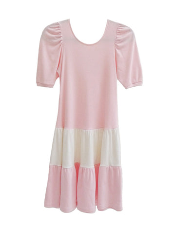 D007 RARE 80S Japanese Babydoll T-Shirt Dress