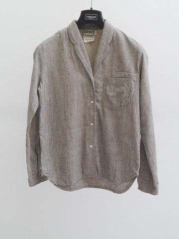SB013 70S VINTAGE Gray Button Up Shirt