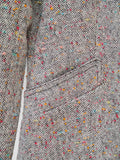 J001 RARE 70S JAPANESE VINTAGE Rainbow Tweed Set