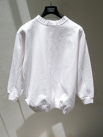 J038 RARE 80S SK SPORT Textured Panel Sweatshirt