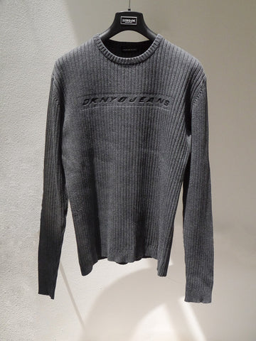 SC006 Classic 90s DKNYJeans Pullover Sweater