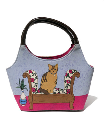 A002 80s Lounge Cat Purse