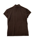 T017 90s VINTAGE MORGAN DE TOI Flocked Stretch Tee