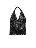 T033 90s VINTAGE Vegas Nights Halter Top